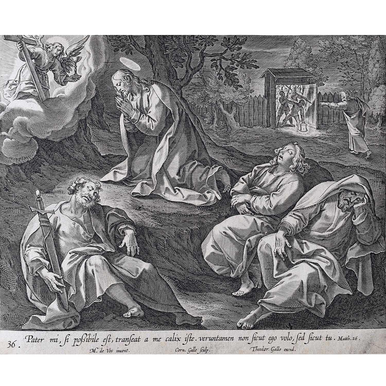 Theodoor Galle Martin de Vos Drinking from Jesus's Cup