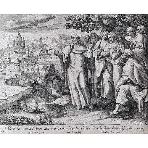 Theodoor Galle Martin de Vos Temple Destruction Foretold