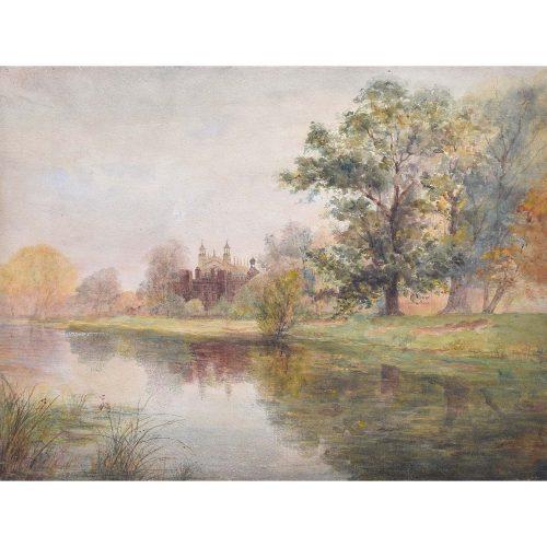eton college watercolour