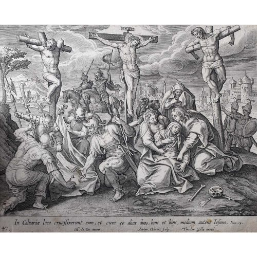 Theodoor Galle Martin de Vos Jesus on the Cross