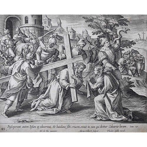 Theodoor Galle Martin de Vos Jesus Carries his Cross