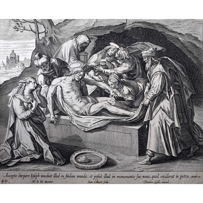 Theodoor Galle Jesus's Tomb
