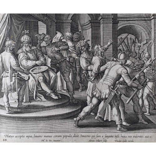 Theodoor Galle Martin de Vos Pilate Washes his Hands