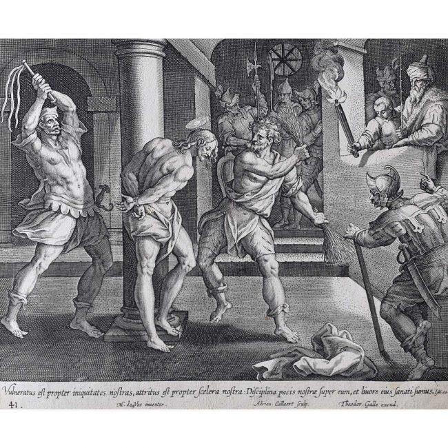 Theodoor Galle Martin de Vos The Suffering Servant