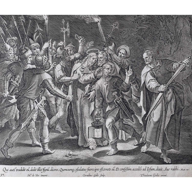 Theodoor Galle Martin de Vos The Traitor