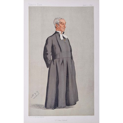 The President of St John's College Oxford Vanity Fair Spy magazine