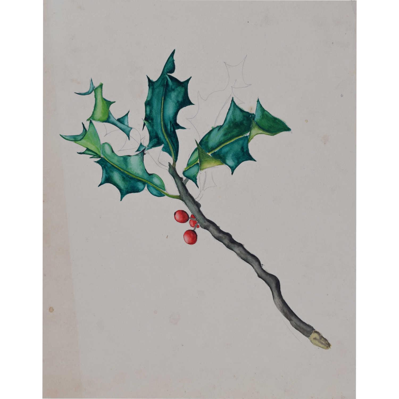 Hilary Hennes Miller, 'Holly' (c.1940), Gouache painting